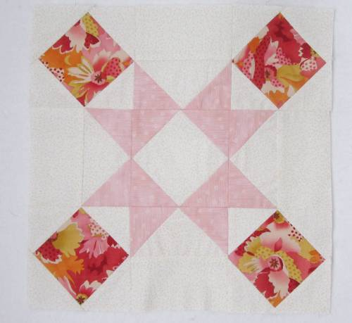 Quilt Club block 6a by Allison Reid