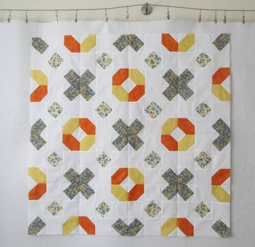 Dashes, dots and crosses on the design wall by Allison Reid