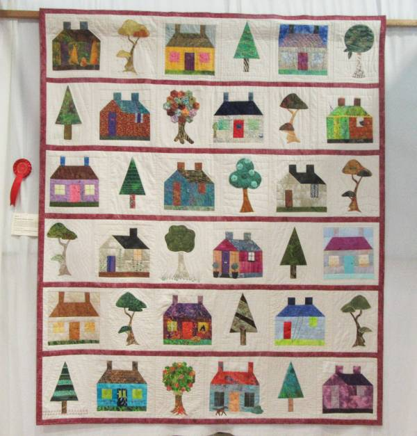 Sandown 2019 Group Quilt (1) by Allison Reid