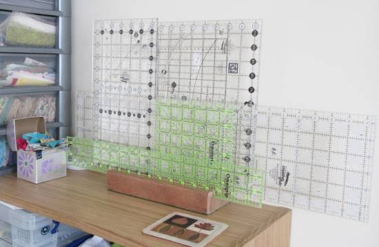 Ruler Rack Collection by Allison Reid
