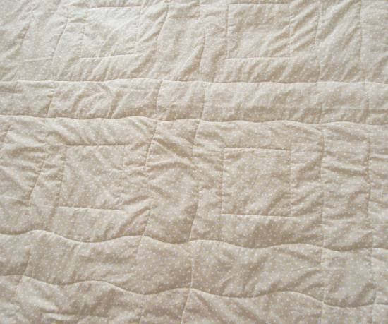 Square in a Square quilting back by Allison Reid