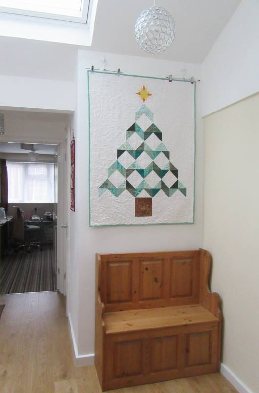 Christmas Tree Quilt by Allison Reid