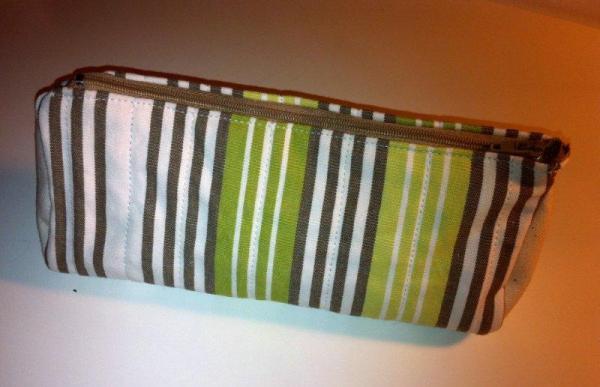 DIY estuche para lapices de tela acolchada