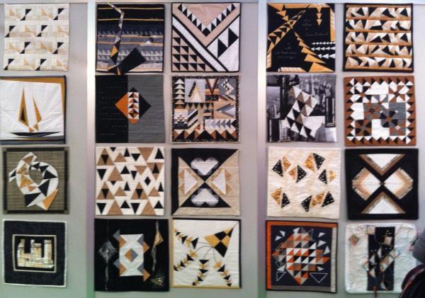 Exposición France patcwhork en Creativa