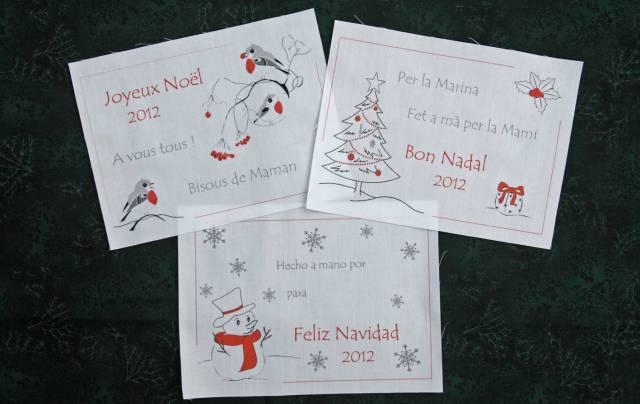 Etiquetes per quilts nadal etiquetas para quilts navidad