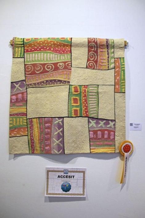 Cecilia González premio quilt Sitges 2016