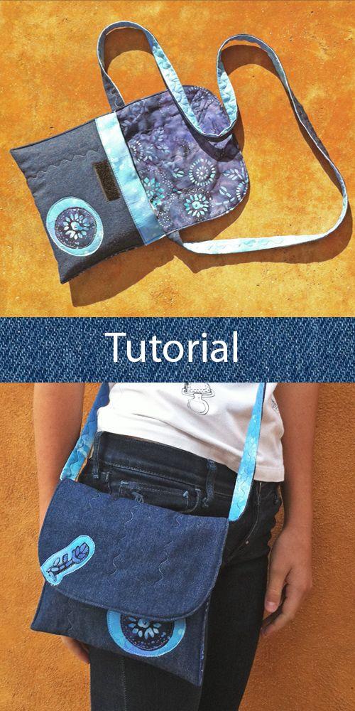 tutorial bolso tejano DIY