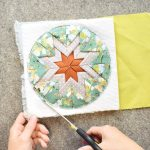 Folded Star Potholder A Tutorial Patchwork And Poodles