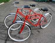 Side-by-Side Bicycle Built for Two