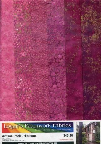 Artisan Shimmer Fabric Packs