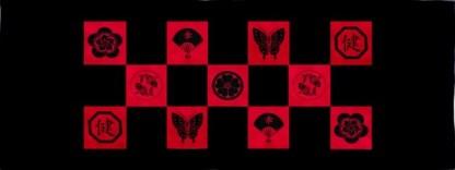 Mons Table Runner Quilt Kit - Red