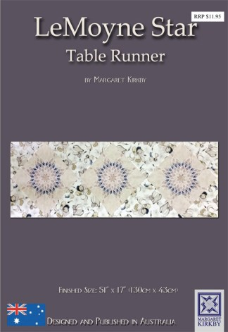 Le Moyne Star Table Runner Pattern