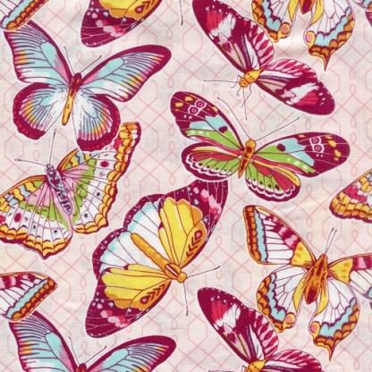 Emma's Garden Butterflies - Pink