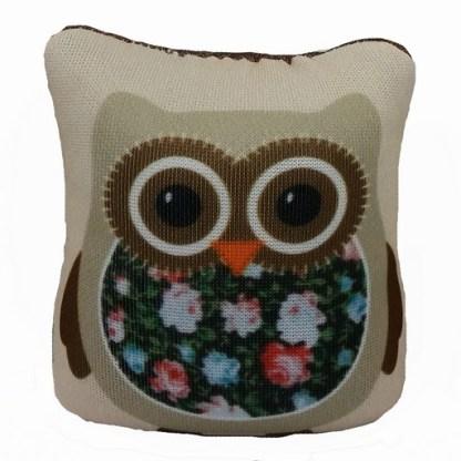 Owl Pin Cushion - Brown