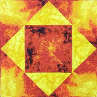 Fire and Lava Quilt