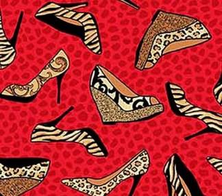 High Heels - Red 21452-24