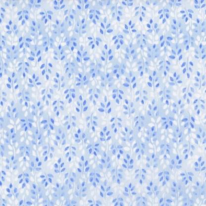 Lovely Leaves - Blue 2951-2