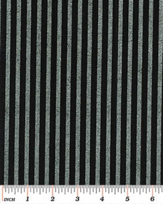 Stripe - Silver on Black 4928M-12