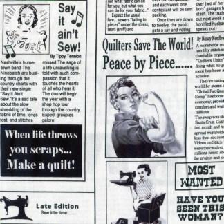 Quilting News C9699-White