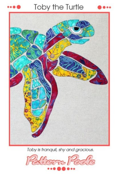 Toby the Turtle Pattern