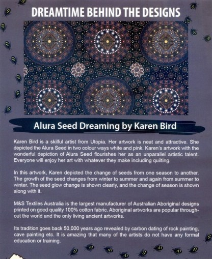 Information on Alura Seed Dreaming by Karen Bird