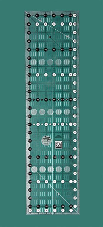 """Creative Grids Ruler 6 ½"""" x 24 ½"""""""