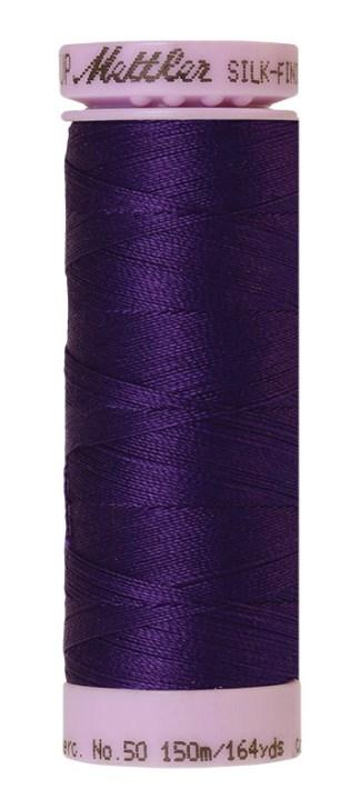 Mettler Silk-finish Cotton 50W 0046 Deep Purple 150m Spool