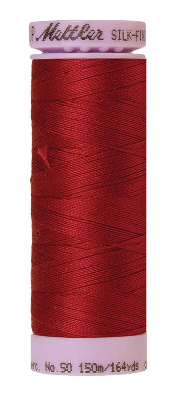 Mettler Silk-finish Cotton 50W 0105 Fire Engine 150m Spool