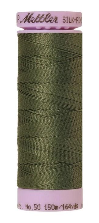 Mettler Silk-finish Cotton 50W 0731 Burnt Olive 150m Spool
