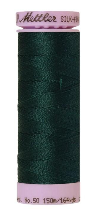 Mettler Silk-finish Cotton 50W 0757 Swamp 150m Spool