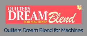 Quilters Dream Machine Blend Logo