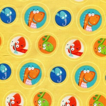 Dino Heads - Yellow 1701-44