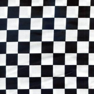 Sashingstash Black and White Check C948-Black