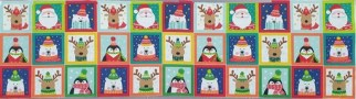 Novelty Christmas Labels Panel