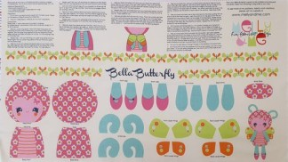 Bella Butterfly Panel