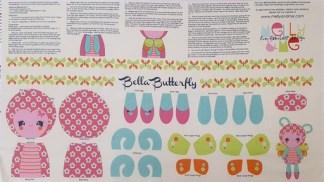 Bella Butterfly Panel