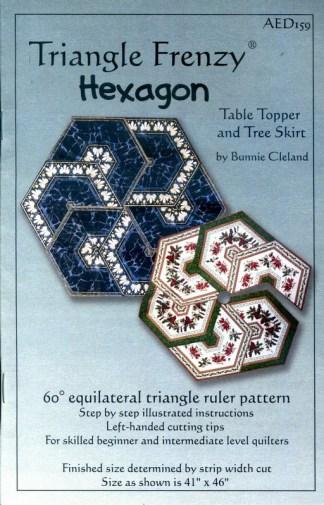 Triangle Frenzy Hexagon Pattern