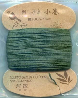 Naito Shoji Sashiko Thread - Colour 22 (25 metre card)