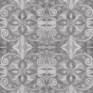 "Baroque 108"" Digital 9777-95 Medium Grey"