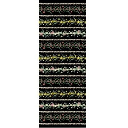 Flowers of Australia DV3210 Black - Full Width