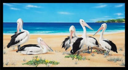 Wildlife Art 4 Panel DV3700