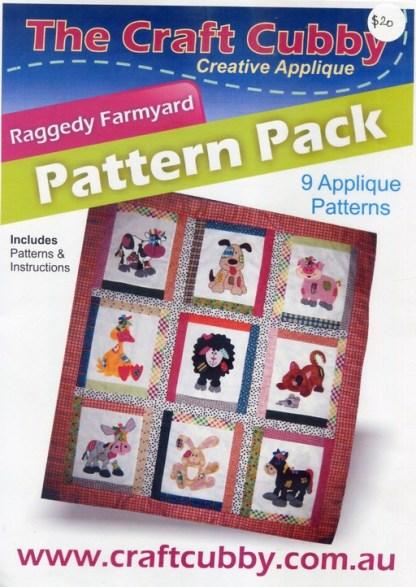 Raggedy Farmyard Pattern