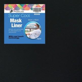 Mask Liner Super Cool - Black