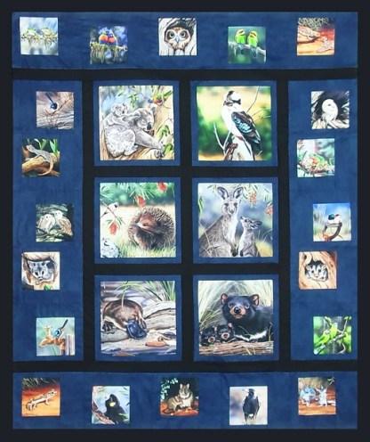 Aussie Animal Art Pattern