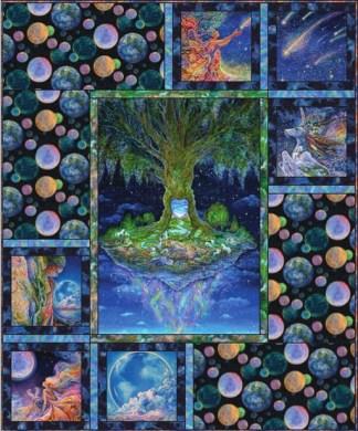 Celestial Journey Tree Quilt Kit