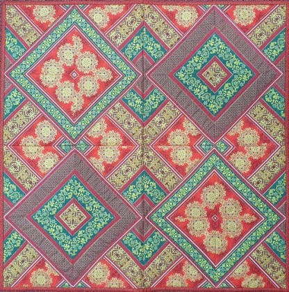 Christmas Quilt - Finished Sample