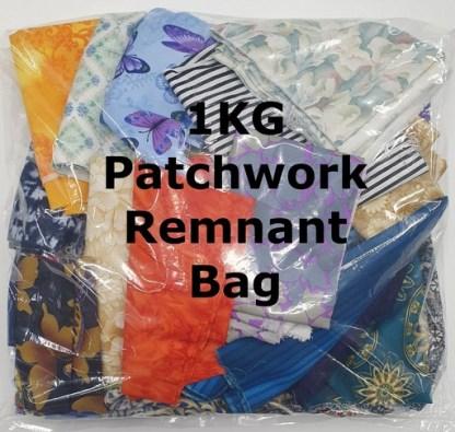 1KG Patchwork Remnant Bag