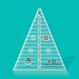 Creative Grids 45 Degree Kaleidoscope & Dresden Plate Ruler