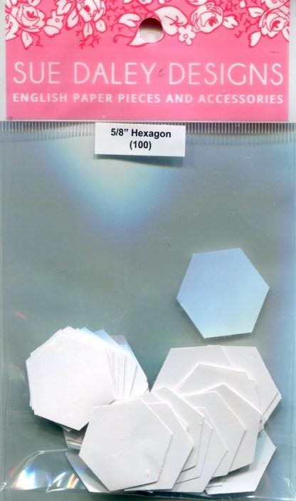 """⅝"""" Hexagon Papers"""