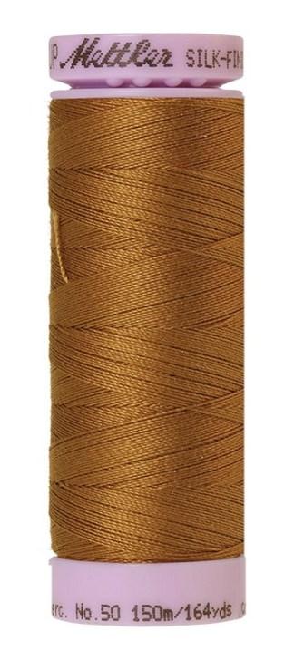 Mettler Silk-finish Cotton 50W 3514 Bronze Brown 150m Spool